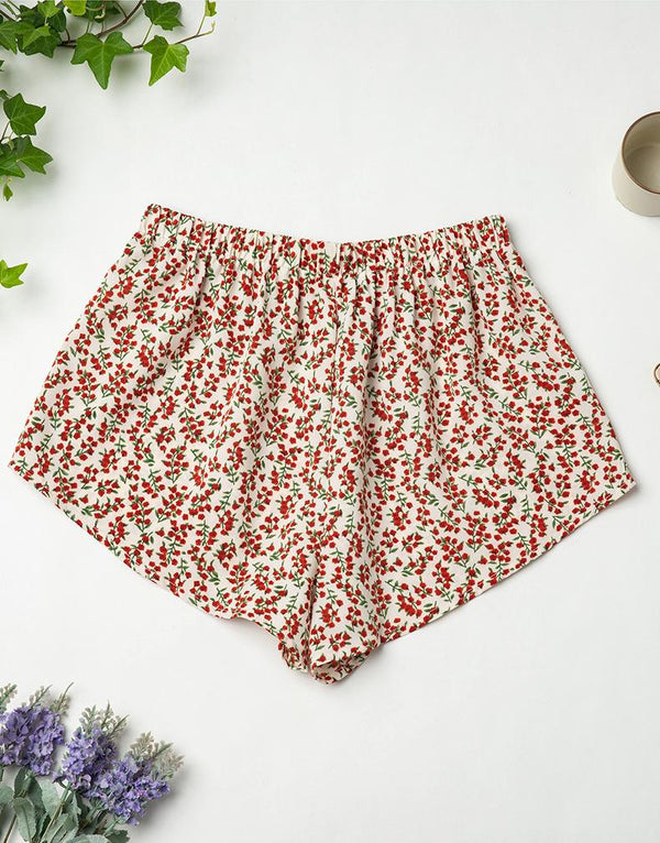 Cross-border Ladies Chiffon Pajamas Summer European And American Homewear Shorts