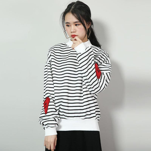 New Autumn And Winter Clothes Women Fashion Trendy Sweater Female Trendy Students Loose Bfulzzang