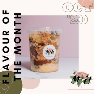 Cake Tub Flavour of the Month: October