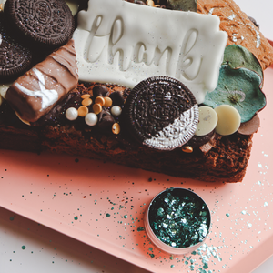 Personalised Thank you Brownies