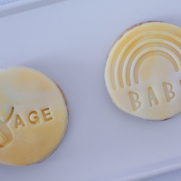 Personalised Baby Gift Biscuit