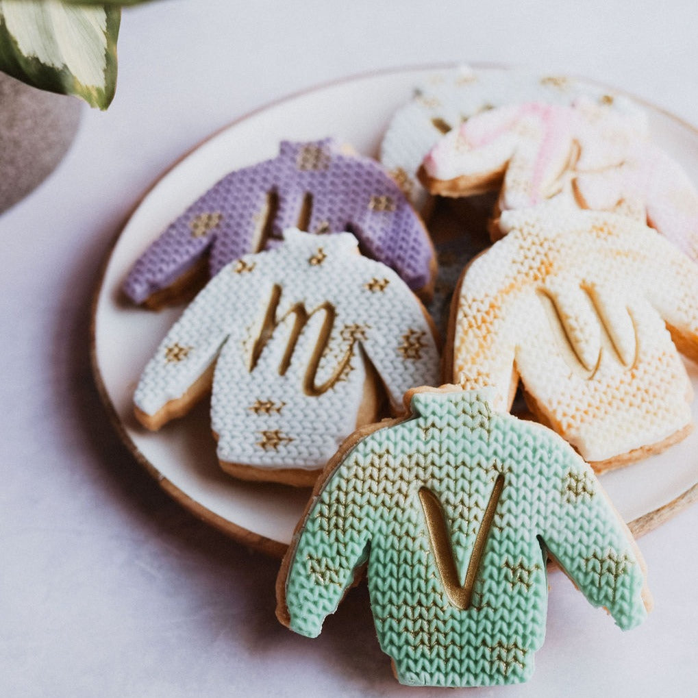 Personalised Jumper Biscuits
