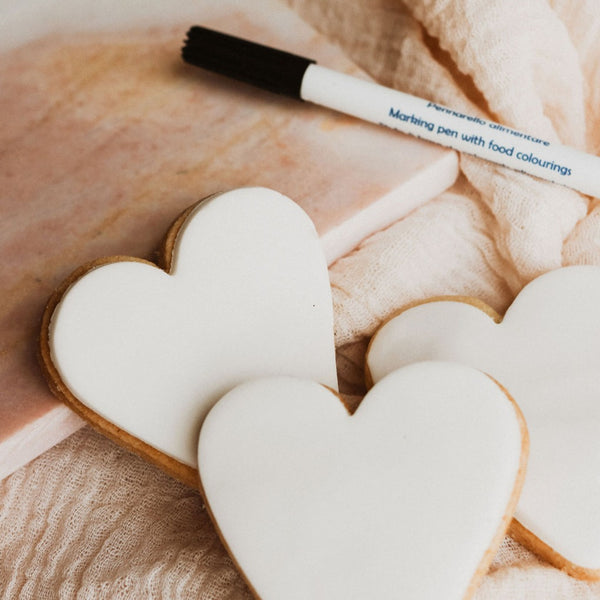 Personalised Heart Biscuits