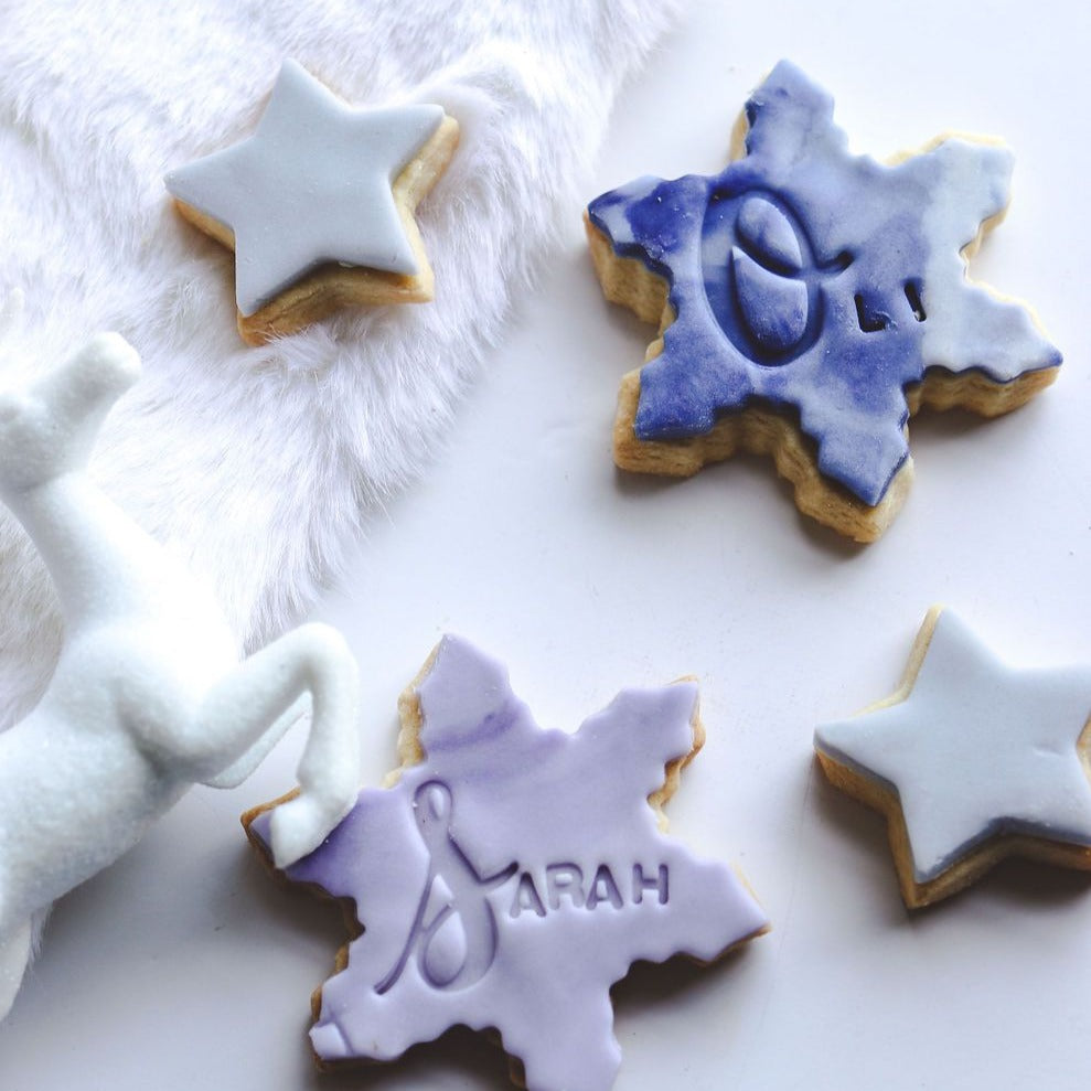 Personalised Christmas Biscuit Set