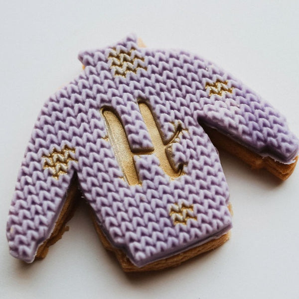 Personalised Christmas Jumper Biscuits
