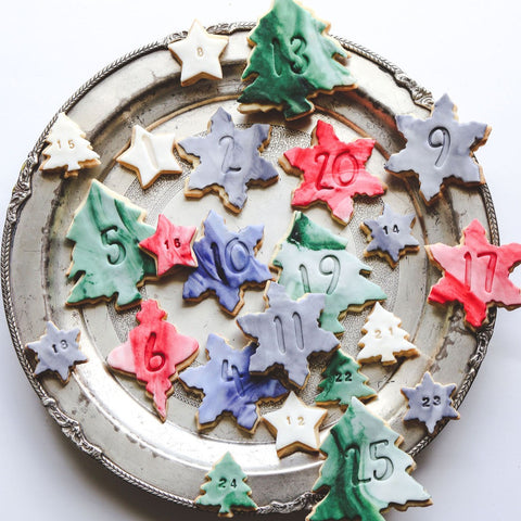Advent Countdown Biscuits