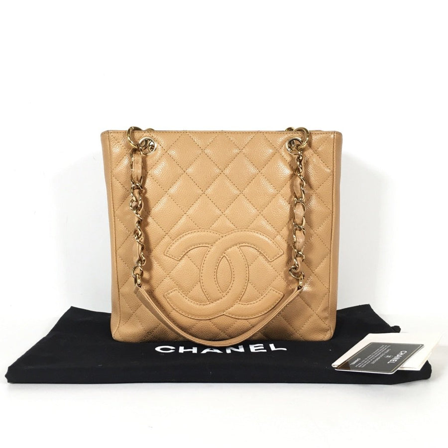 Chanel PST tote in beige