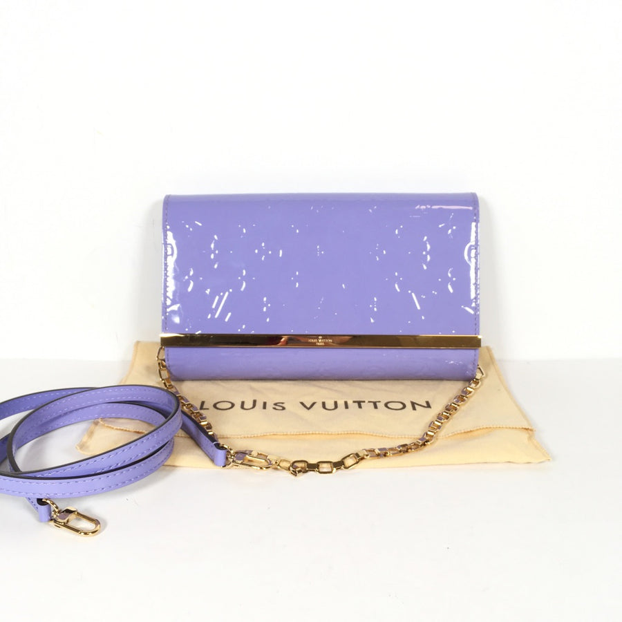 Louis Vuitton pochette ana in purple