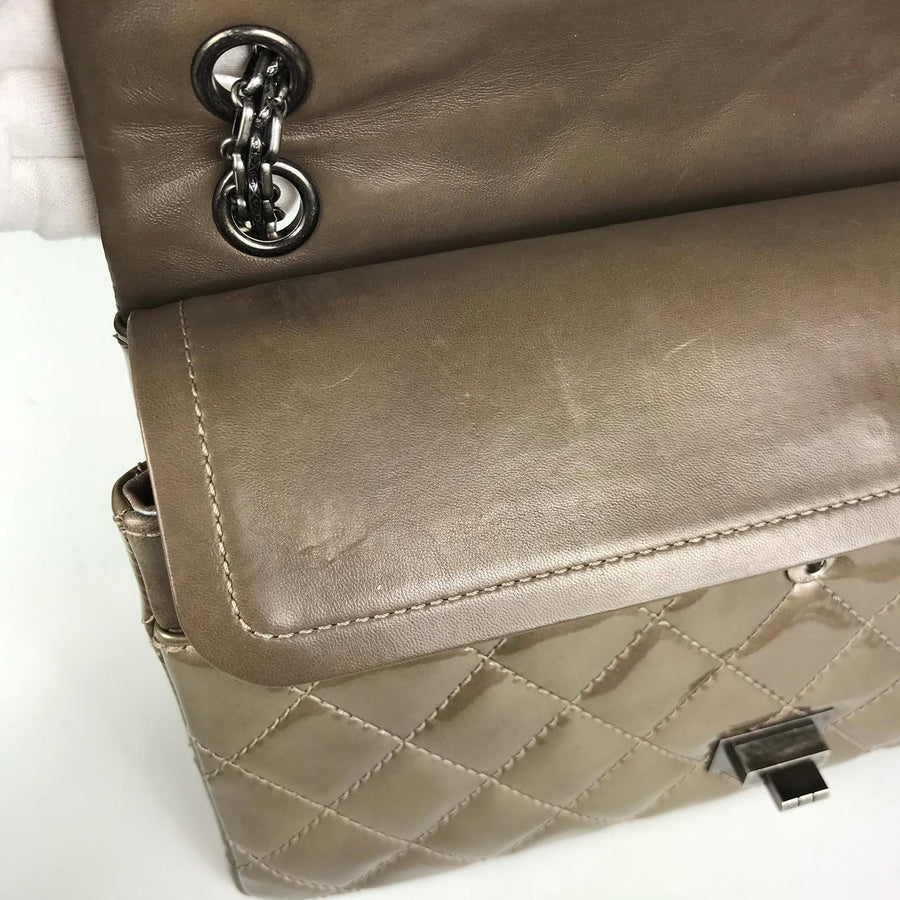 Chanel 2.55 Reissue Flap in Bronze with silver hardware