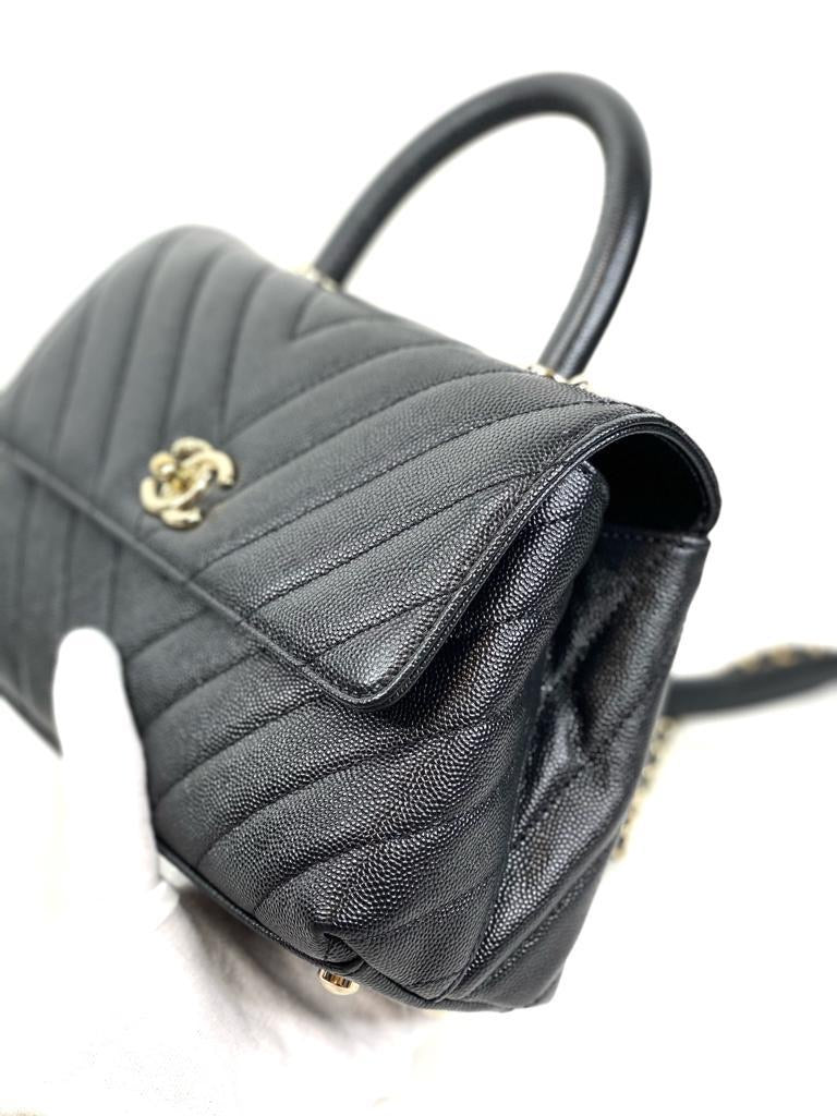 Chanel Chevron Cocohandle