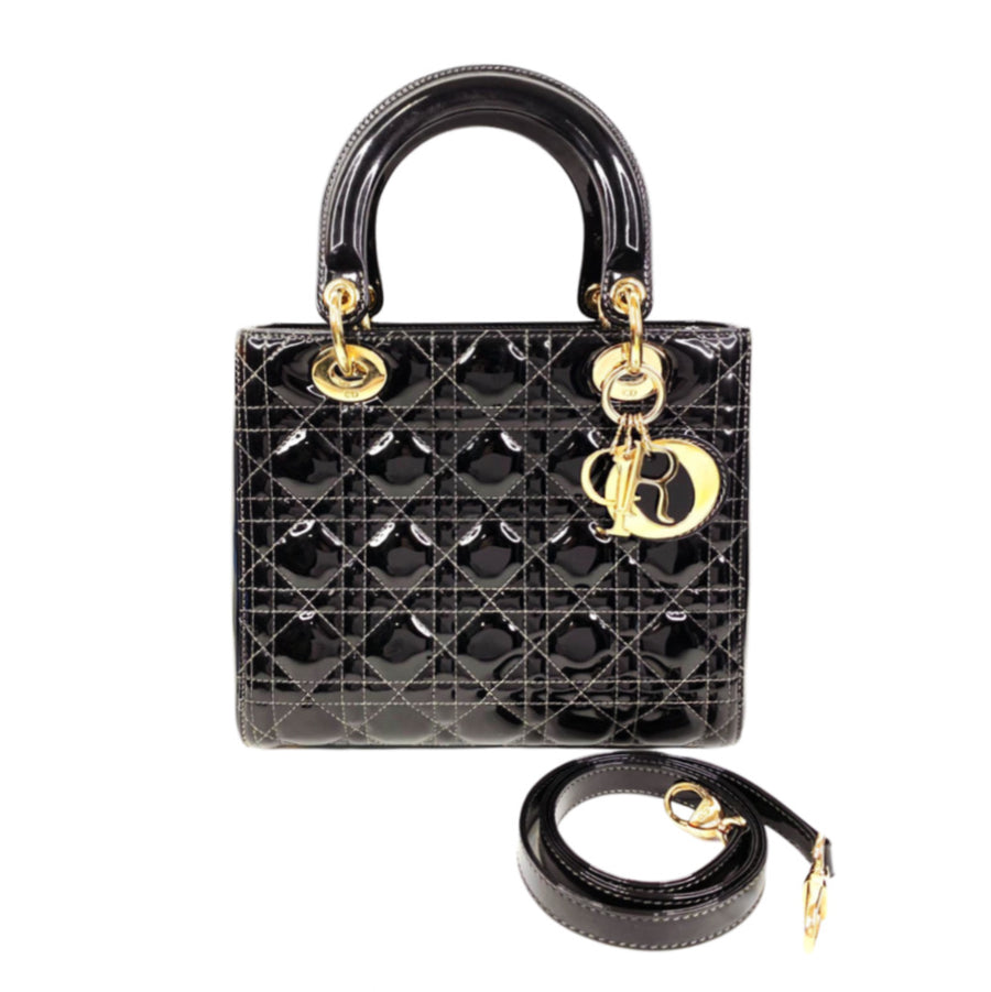 Dior Lady Dior handbag in Black