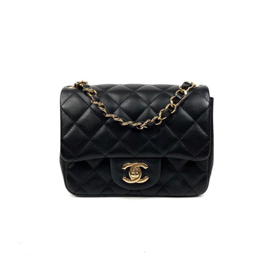 Chanel Classic Mini Square in Black