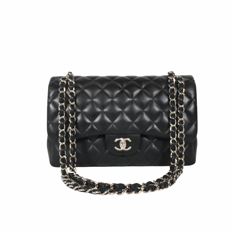 Chanel Classic Jumbo Flap in Black