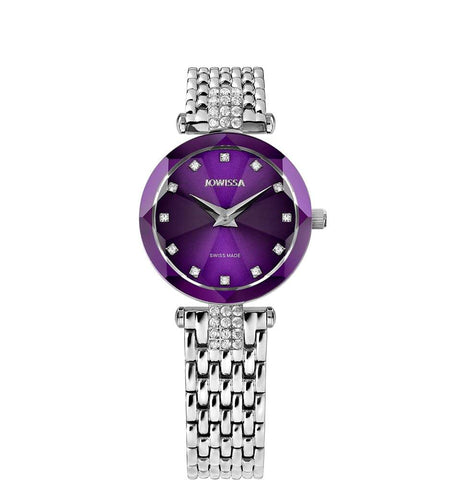 Facet Strass Swiss Ladies Watch J5.702.S