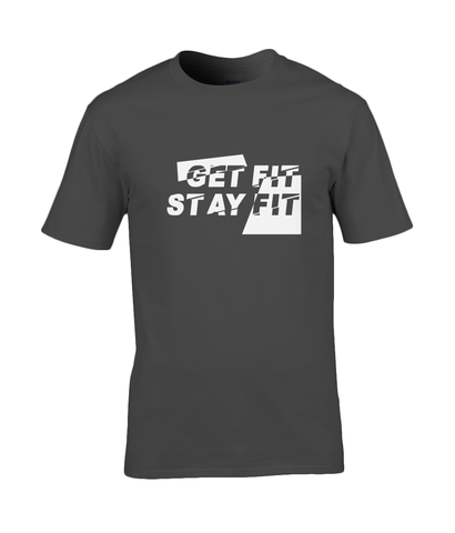 Get Fit Stay Fit Premium Cotton Tee