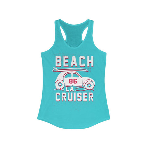 LA Beach Cruiser Racerback Tank Top