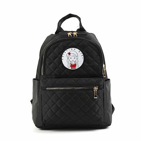 Cristina Girl Quilted Mini Backpack