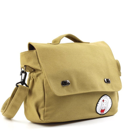 Cristina Girl Messenger / Cross body In Canvas Material