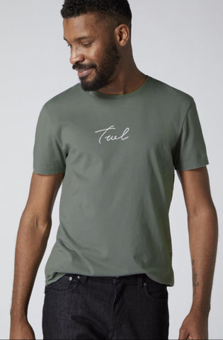 V2 Signature Khaki T-Shirt