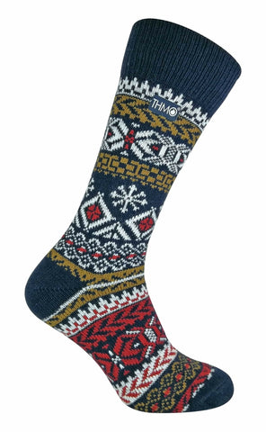THMO - Mens Vintage Thermal Wool Blend Socks