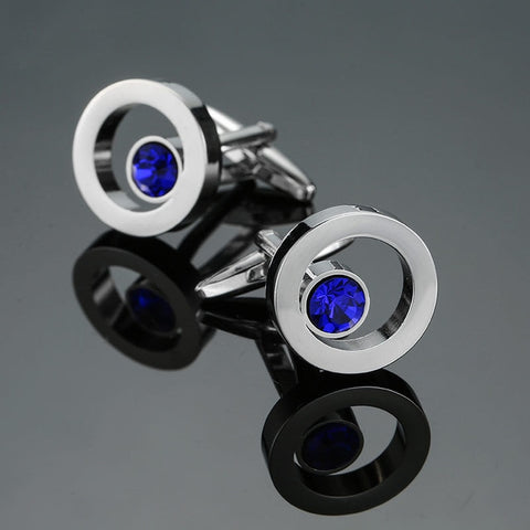 Dual Sphere Cufflinks
