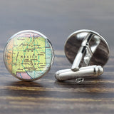 World Globe Cufflinks