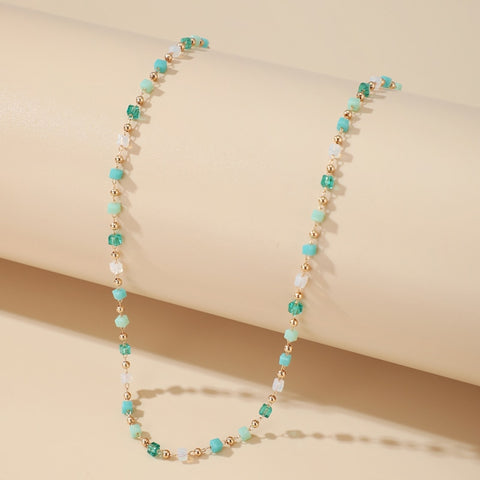Elegant Bohemian Bead Necklace
