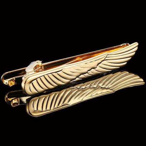 Gold Wing Tie Bar