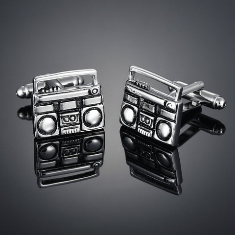 Ghetto Blaster Cufflinks