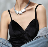 Classic Rhombic Choker Necklace