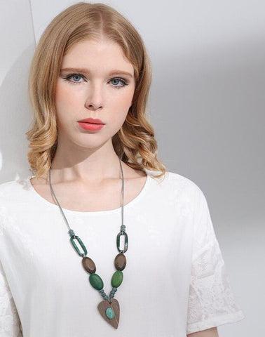 Bohemia Style Wooden Necklaces