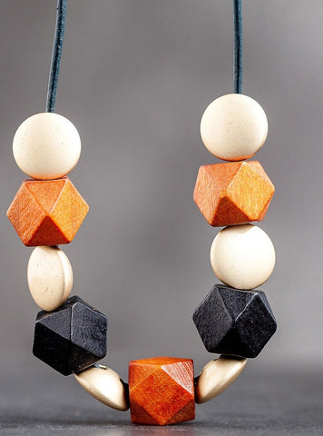 Large Statement Geometric Necklace