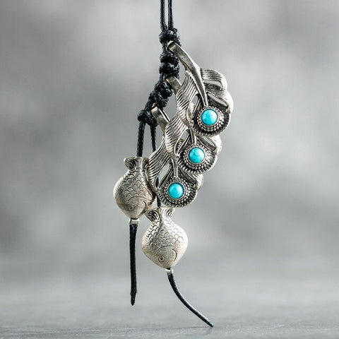 Bohemian Fish Necklace