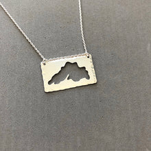 Load image into Gallery viewer, Lake Superior - sterling silver necklace