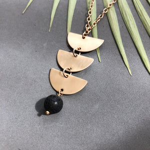 Triple Moon necklace - N29