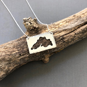 Lake Superior - sterling silver necklace