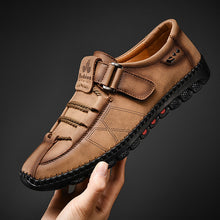 Load image into Gallery viewer, Men's Casual Loafers Split Leather Shoes