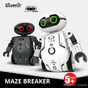 Silverlit Smart Maze Robot Kids Multifunction Dance Voice Electric Remote Control Toys Kids Boys Intelligent RC Robot Holiday Gift 06