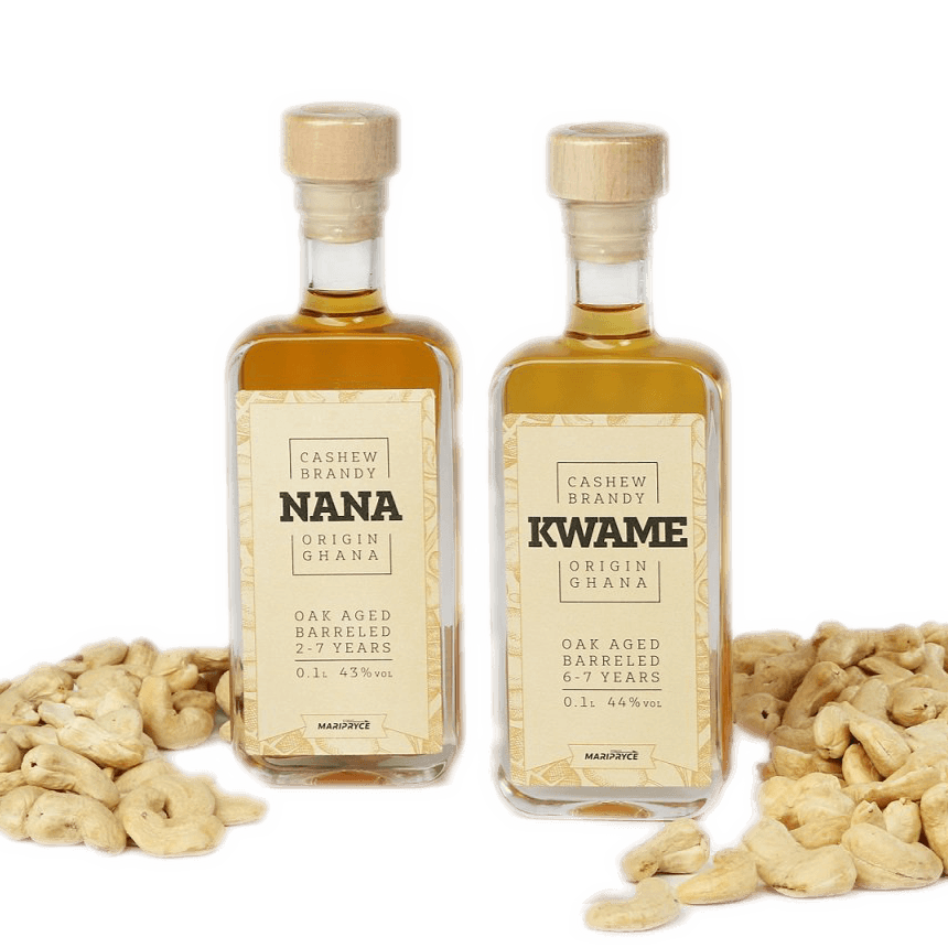 Cashewbrandy 100ml, 2er Set - Maripryce Group Germany GmbH