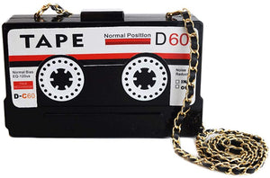 Open image in slideshow, Tape Cassette Purse