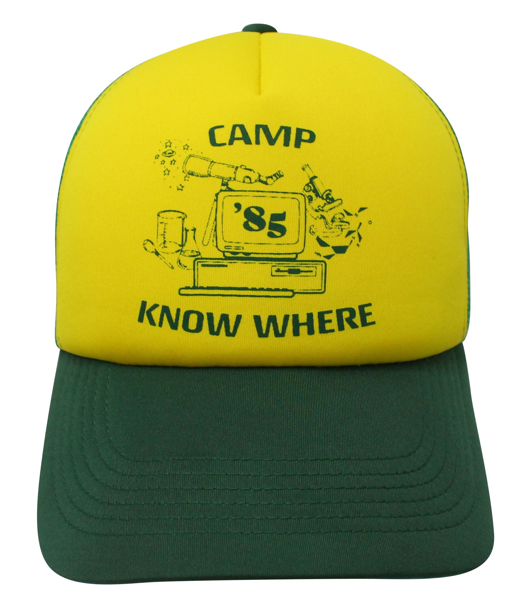 Camp Know Where Trucker Cap