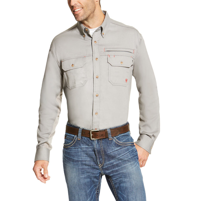 Ariat FR Solid Vent Work Shirt - Flame Resistant - 10019063