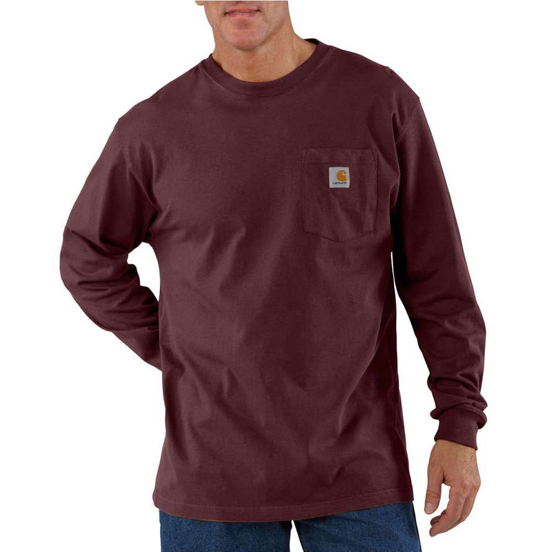 Carhartt Men's Port Long-Sleeve T-Shirt - K126PRT