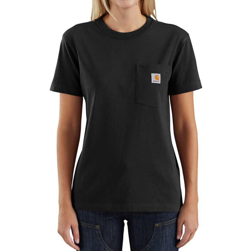 Carhartt Women's Black Workwear T-Shirt - 103067-001
