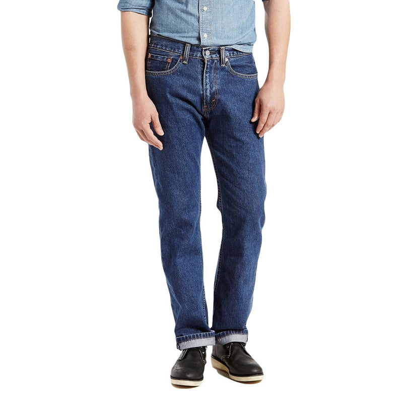 Levi's 501 Regular Fit - Dark Stonewash - Style 005054886