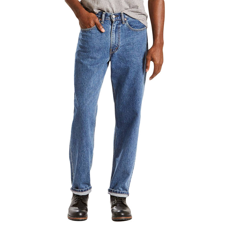 Levi's 550 Relaxed Fit Jeans - Medium Stonewash - 005504891
