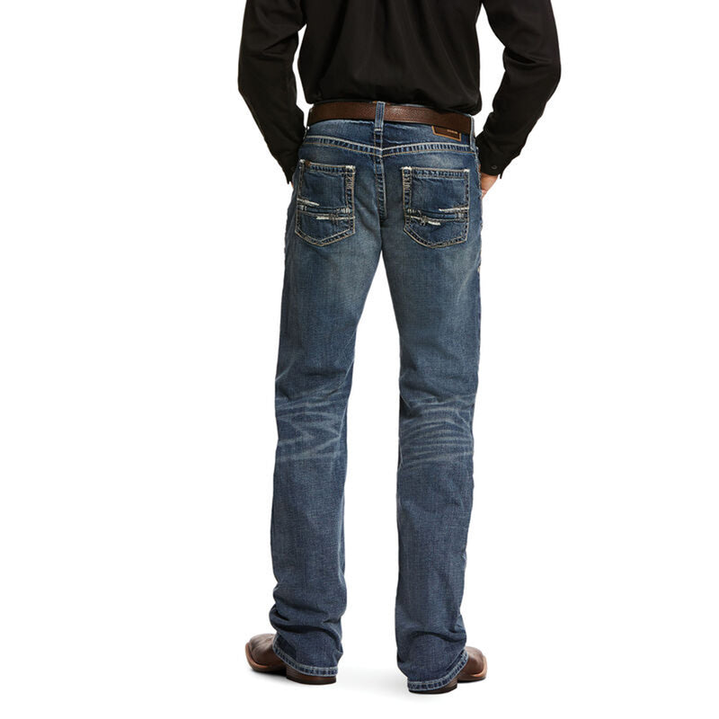 Ariat® Mens M5 Slim Stretch Adkins Stackable Straight Leg Jeans - 10030275