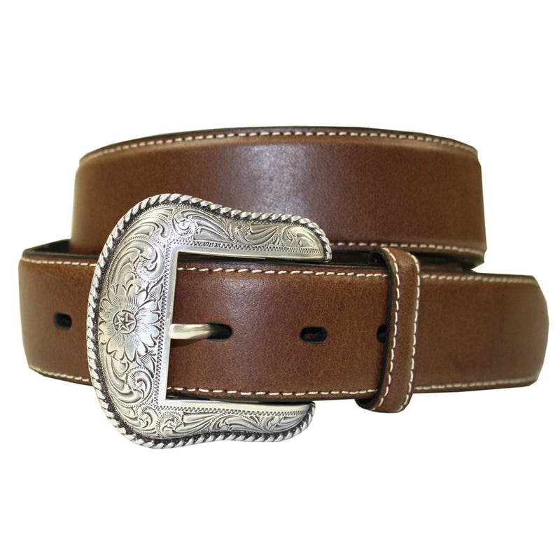 Nocona Men's Chestnut Western Basic Belt - N2453457