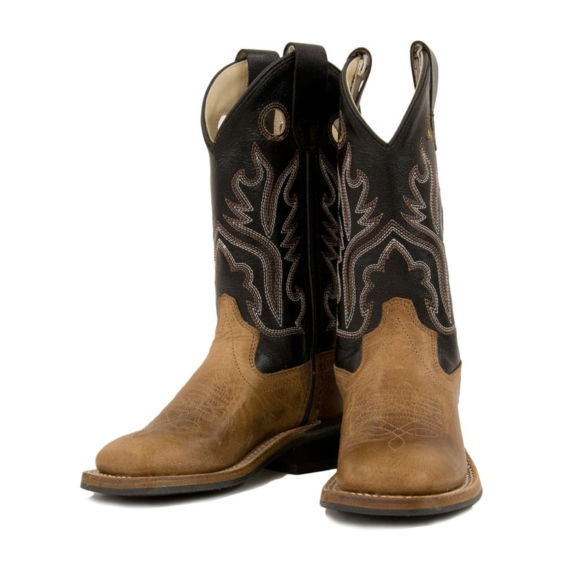 Old West Kids' Boots - BSC1814G-LTBN