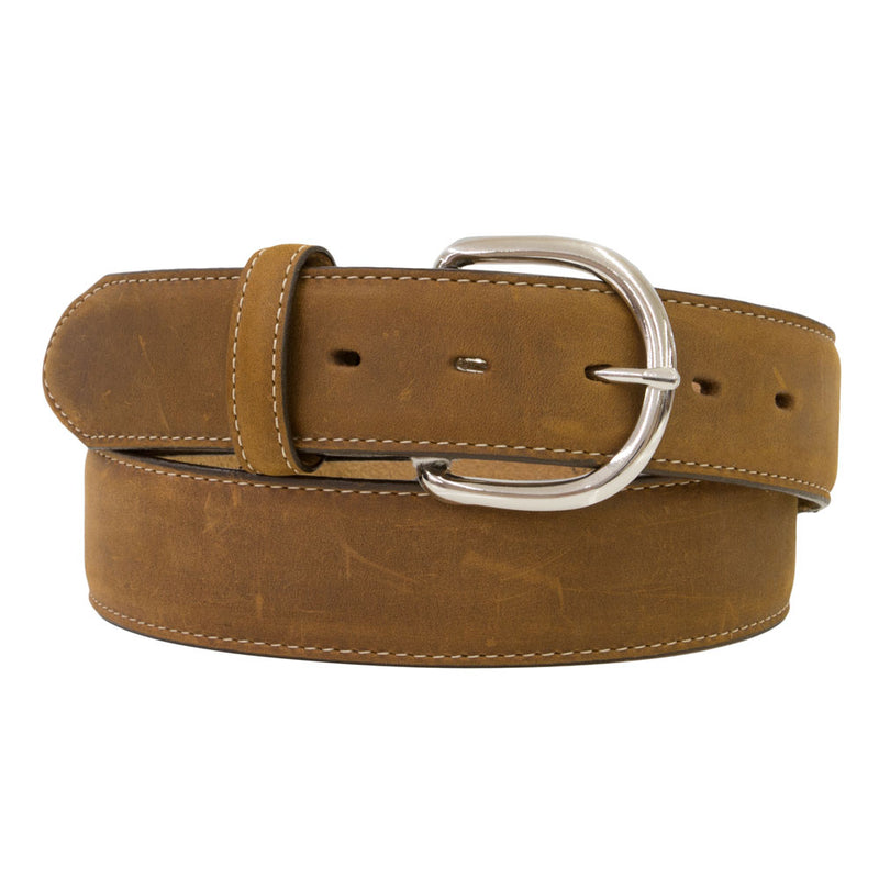 Silver Creek Men's Brown Leather Western Belt - 53709